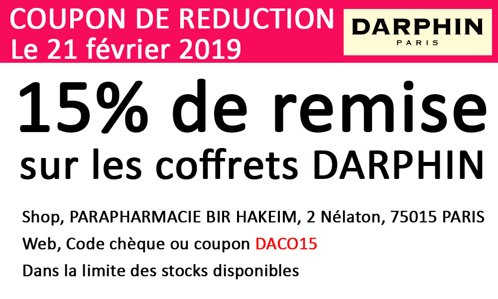 coupon reductiion daco15