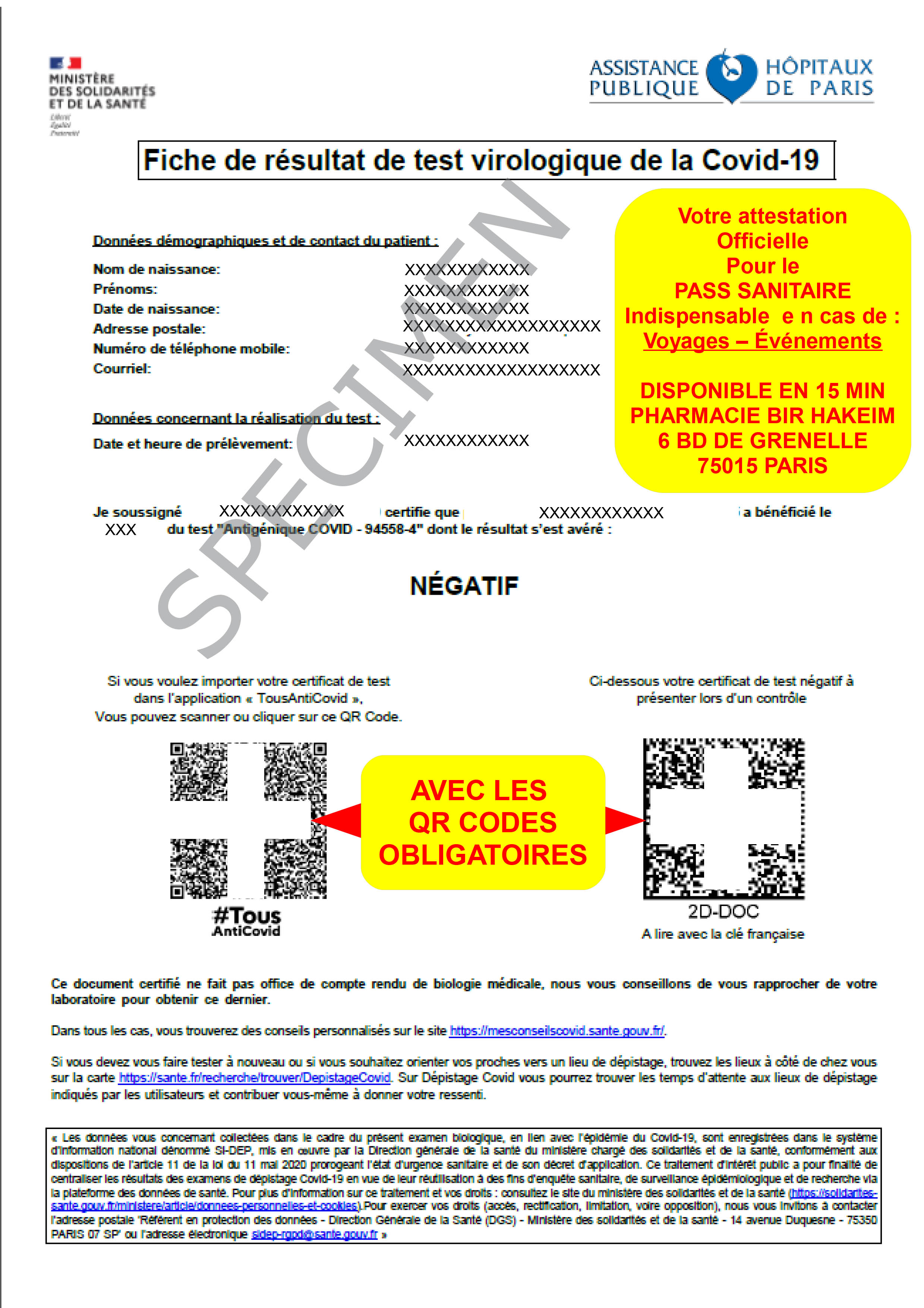 attestation qr code
