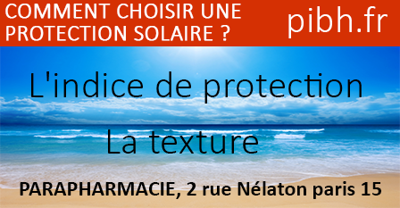 comment choisir protection solaire