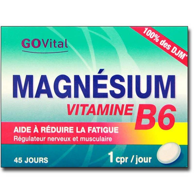 Achetez ALVITYL Magnésium Vitamine B6 Comprimé Boîte de 45