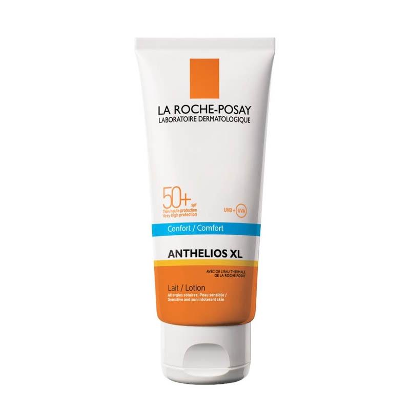 Achetez ANTHELIOS LA ROCHE POSAY SPF50+ Lait hydratant corps sans parfum Tube de 100ml