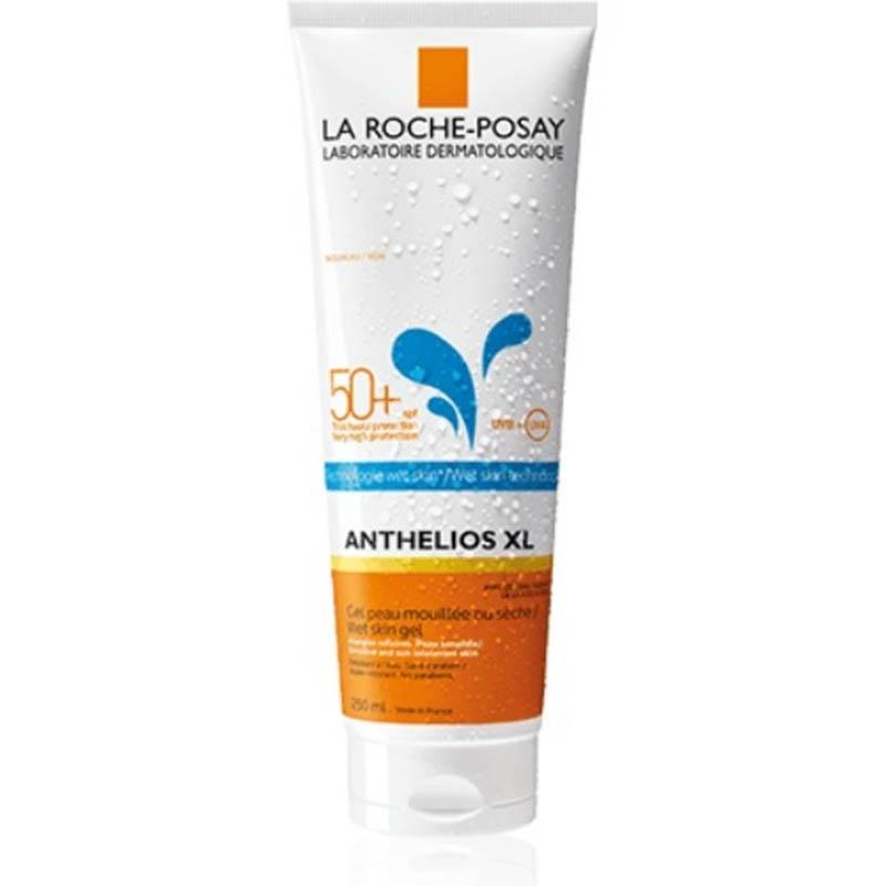 Achetez ANTHELIOS LA ROCHE POSAY SPF50+ Gel peau mouillée wet skin corps avec parfum Tube de 250ml
