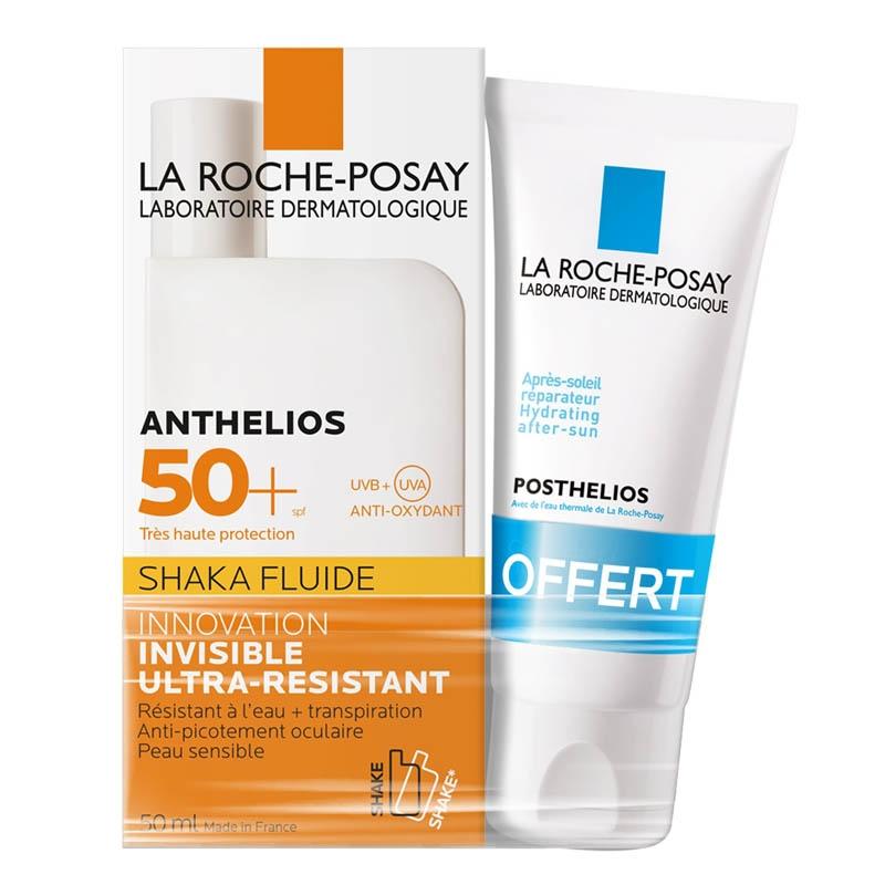 Achetez ANTHELIOS XL SPF50+ Fluide Shaka avec parfum 50ml+mini Posthelios