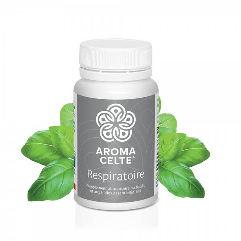 Achetez AROMA CELTE RESPIRATOIRE 60 Gélules