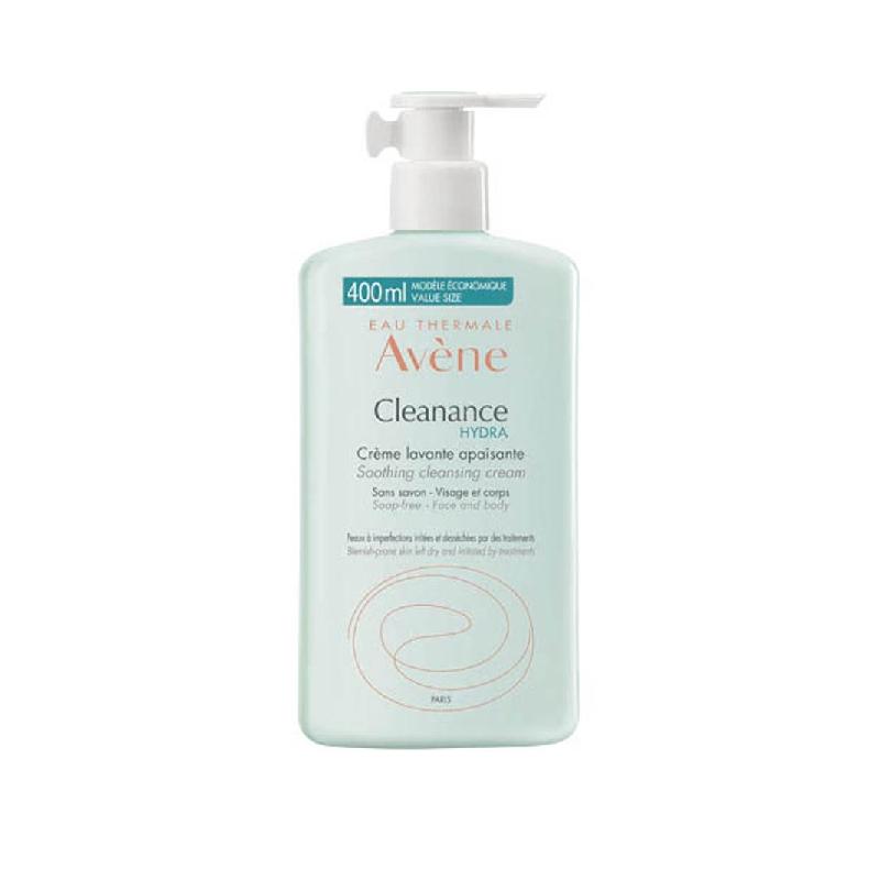 Achetez AVENE CLEANANCE HYDRA Crème lavante apaisante flacon 200 ml