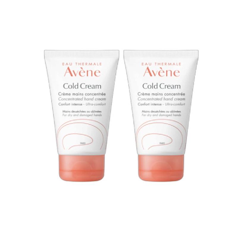 Achetez AVENE COLD CREAM Crème mains concentrée 2 Tube de 50ml
