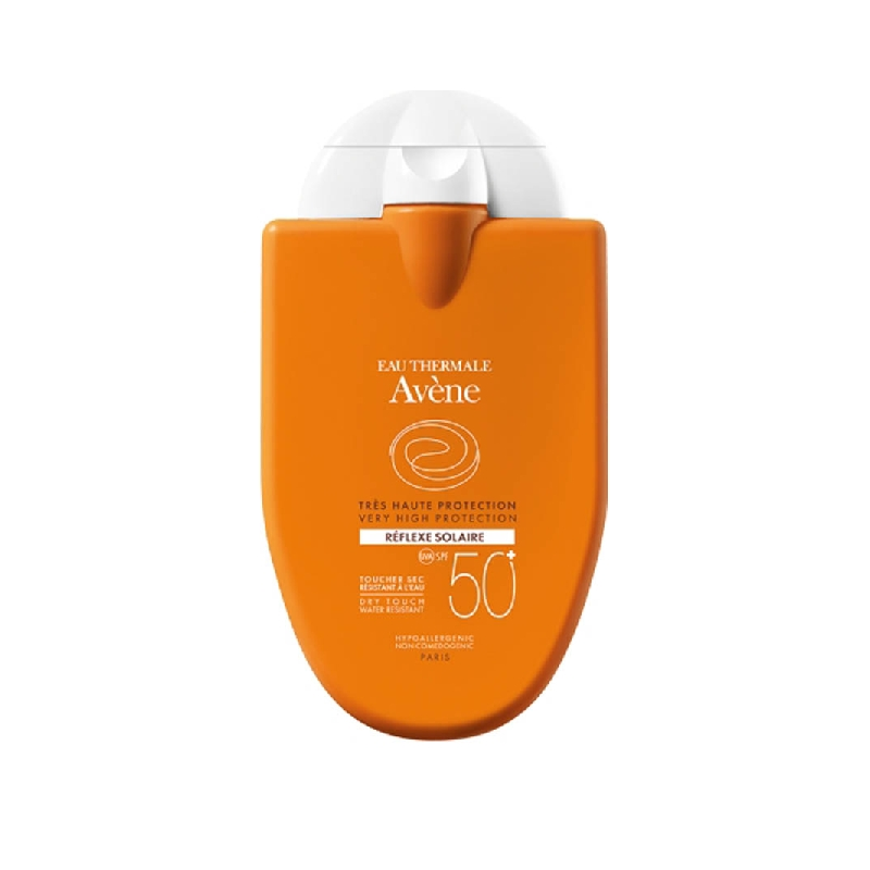 Achetez AVENE SOLAIRE SPF50+ REFLEXE Fluide Flacon de 30ml