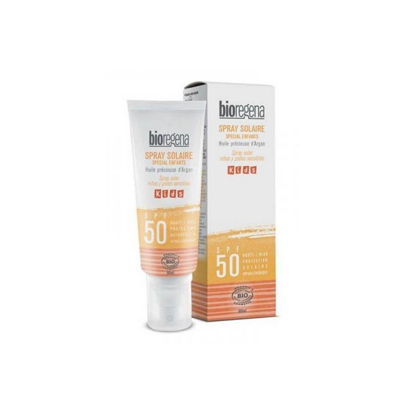 Achetez BIOREGENA SOLAIRE SPF50 Spray bio kids Flacon de 90ml