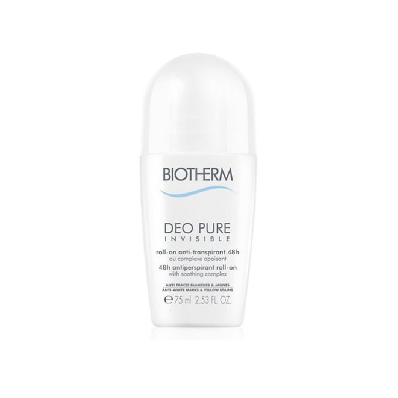 Achetez BIOTHERM DEO PURE INVISIBLE 48H Déodorant Roll-on de 75ml