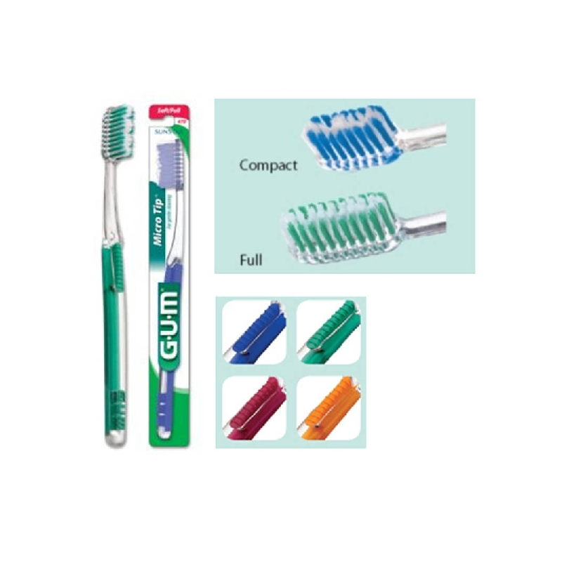 Achetez BUTLER MICRO TIP 473 Brosse dents compact médium