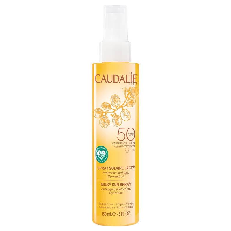 Achetez CAUDALIE SOLAIRE SPF50 Spray solaire lacté Flacon de 150ml