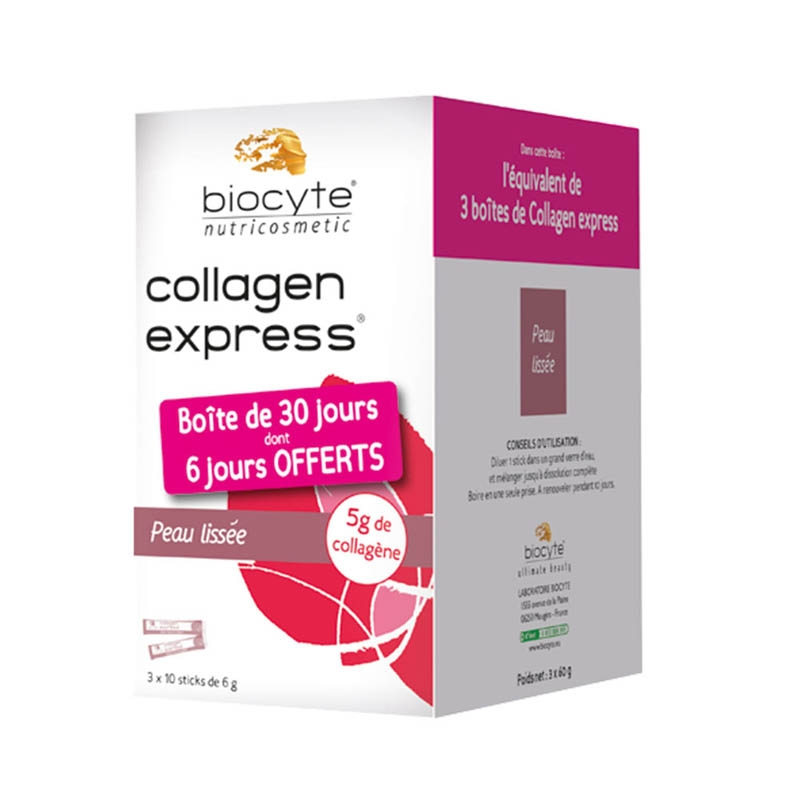 Achetez COLLAGEN EXPRESS Solution Buvable 30 Sticks