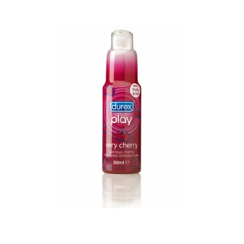 DUREX PLAY COQUIN Gel lubrifiant crasy cherry Flacon Pompe de 50ml