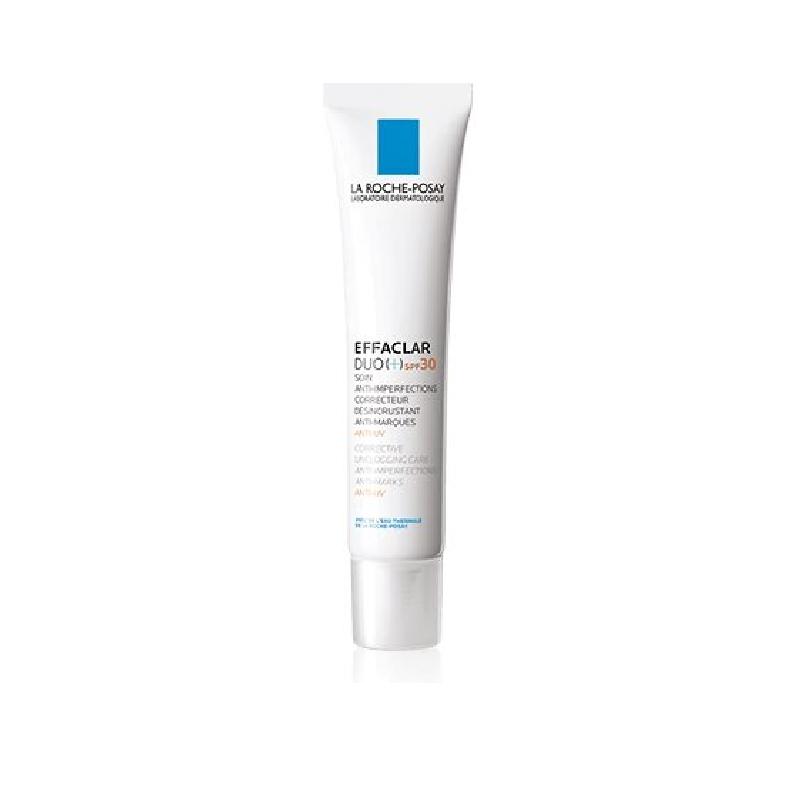 Achetez EFFACLAR DUO + SPF30 Crème soin anti-imperfections Tube de 40ml