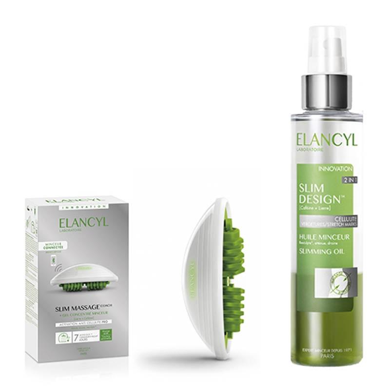 Achetez ELANCYL SOINS SILHOUETTE Coffret slim massage Gant+Gel