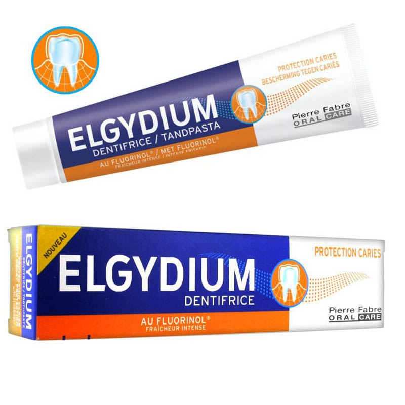 Achetez ELGYDIUM PROTECTION CARIES Dentifrice à partir de 12 Ans Tube de 75ml