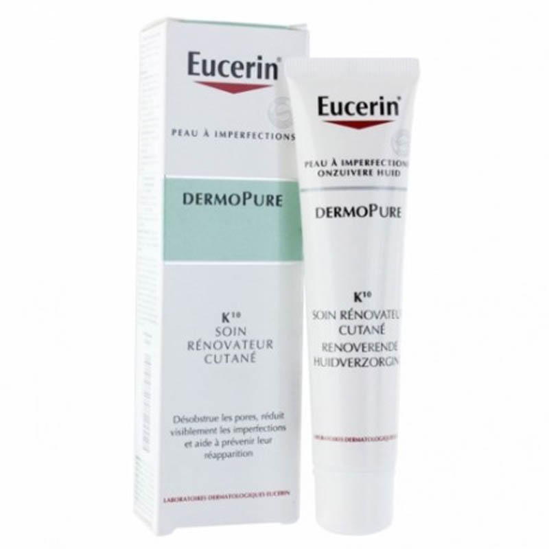 Achetez EUCERIN DERMOPURE K10 Emulsion Flacon Pompe de 40ml