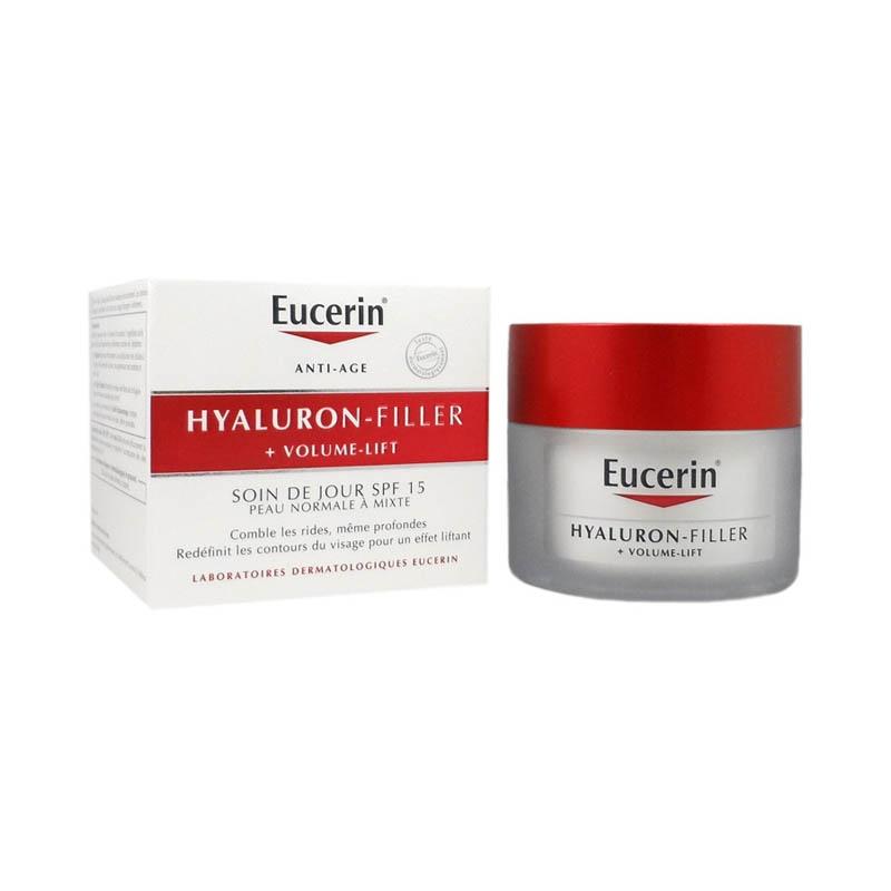 Achetez EUCERIN HYALURON-FILLER + VOLUME LIFT Emulsion soin jour peau normale à mixte Pot de 50ml