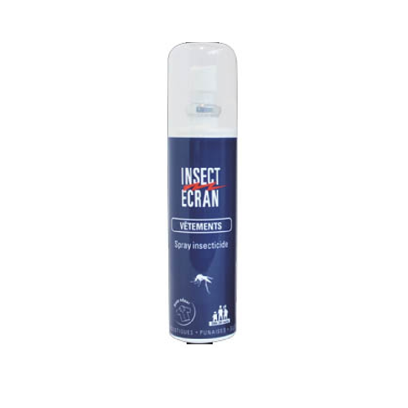 Achetez INSECT ECRAN VETEMENTS Spray anti-moustique Flacon de 100ml