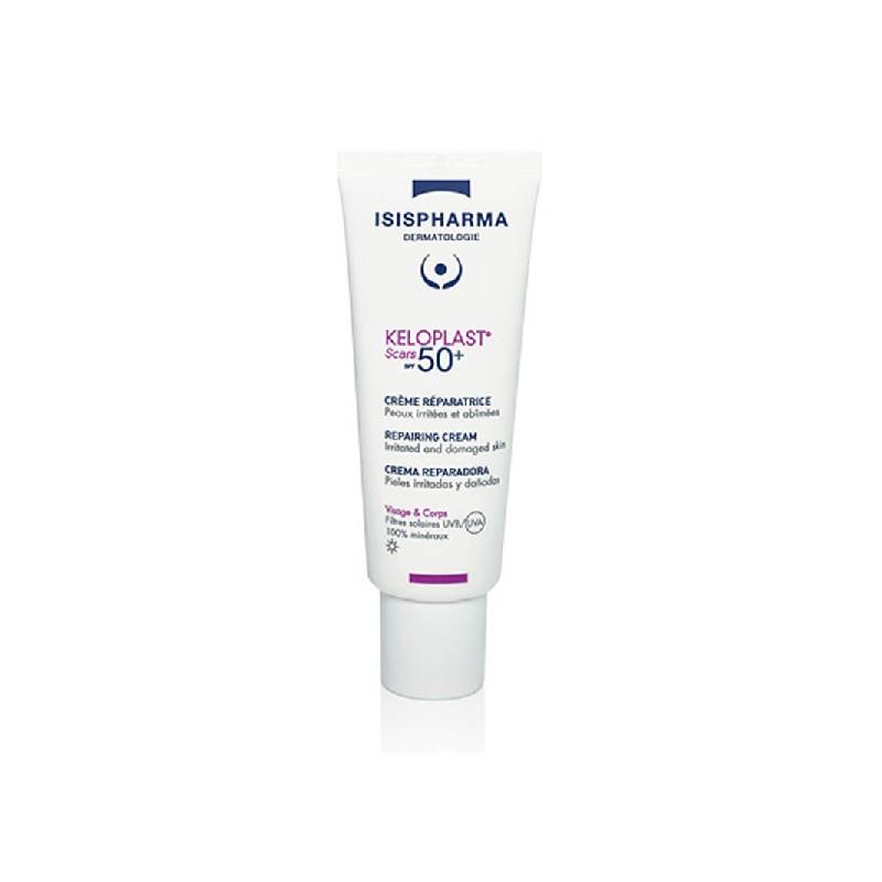 Achetez KELOPLAST SCARS SPF50+ Crème réparatrice effet pansement Tube de 40ml