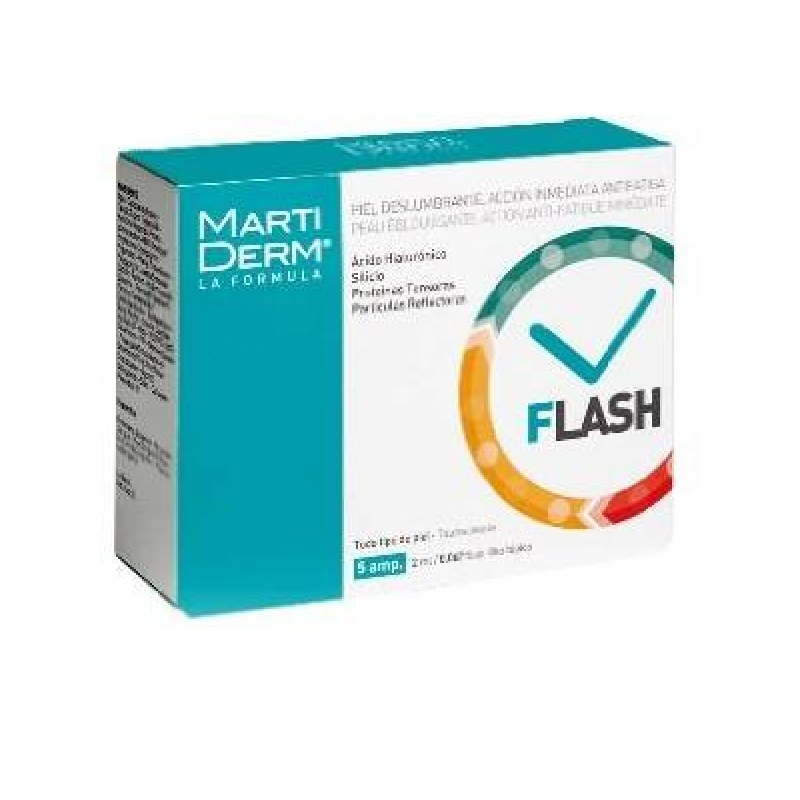 Achetez MARTIDERM FLASH Solution 5 Ampoule de 2ml