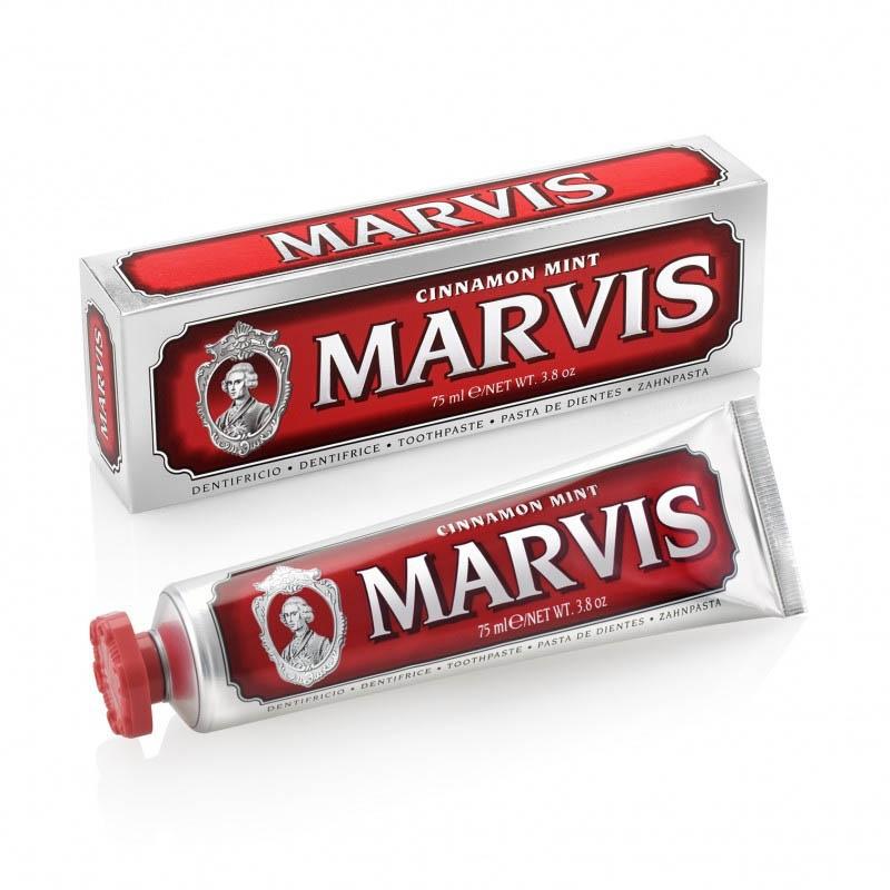 Achetez MARVIS ROUGE Pâte dentifrice menthe cannelle Tube de 85ml