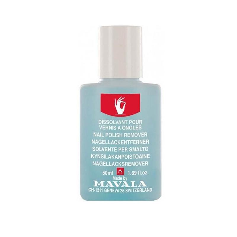 Achetez MAVALA MANUCURE Dissolvant sans acétone bleu Flacon Plastique de 50ml