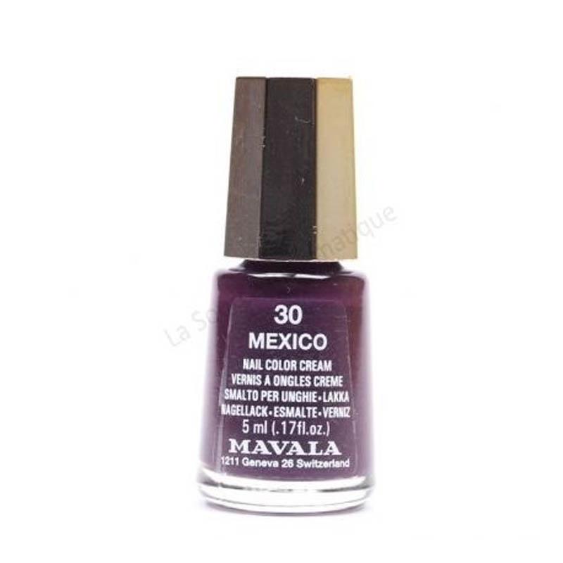 Achetez MAVALA Vernis à ongles mexico mini Flacon de 5ml
