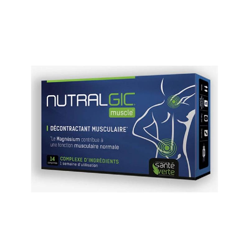 Achetez NUTRALGIC MUSCLE Comprimé décontractant musculaire Boîte de 14