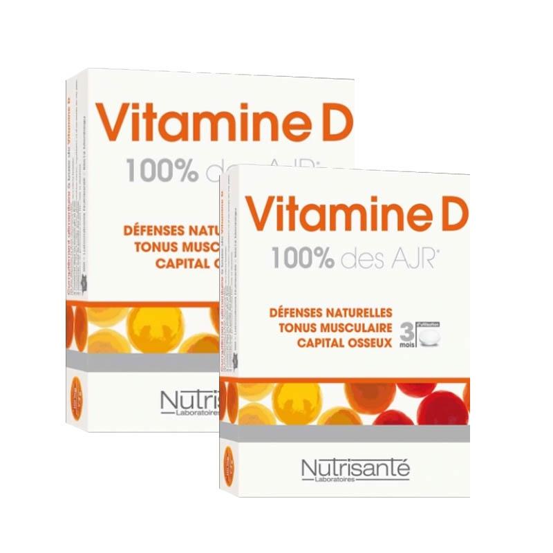 Achetez NUTRISANTE Vitamine D Comprimé 2 Boîte de 90