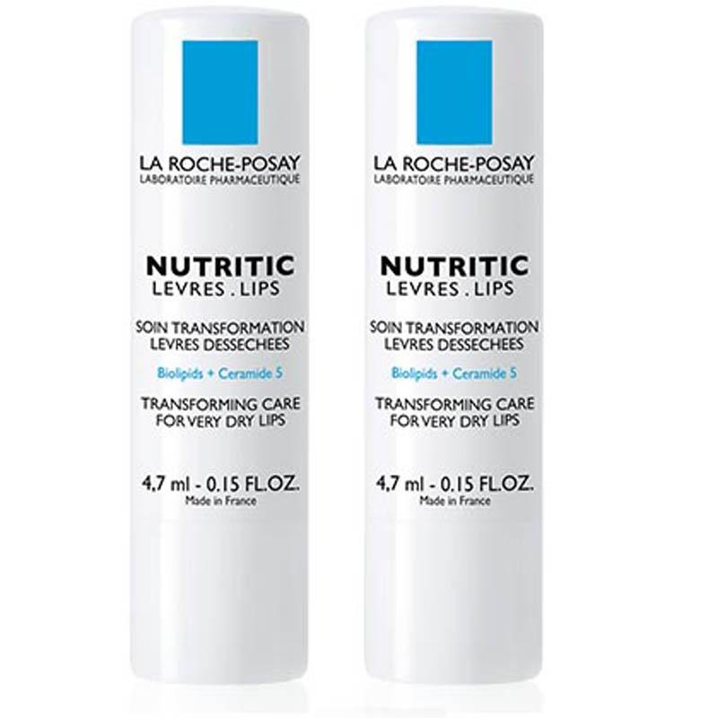 Achetez NUTRITIC LA ROCHE POSAY Stick lèvres sèche sensibles 2 Etuis de 4,7ml