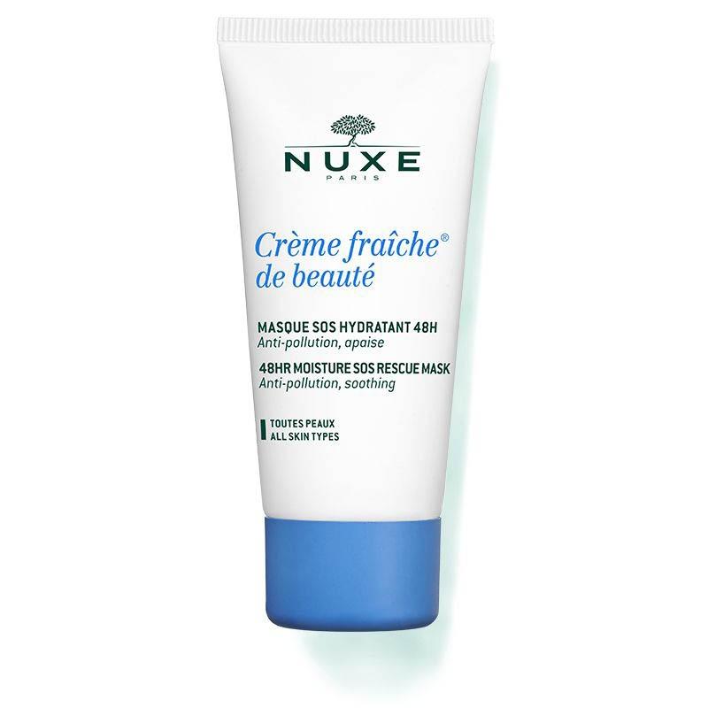 Achetez NUXE CREME FRAICHE DE BEAUTE Masque SOS hydratation 48H Tube de 50ml