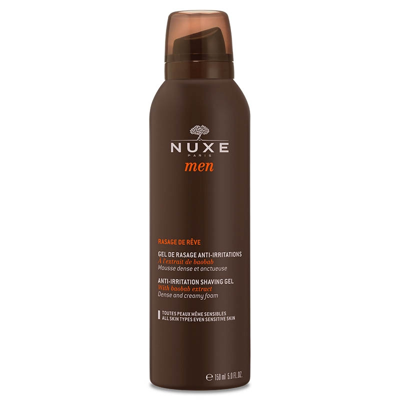 NUXE MEN Gel de rasage Aérosol de 150ml