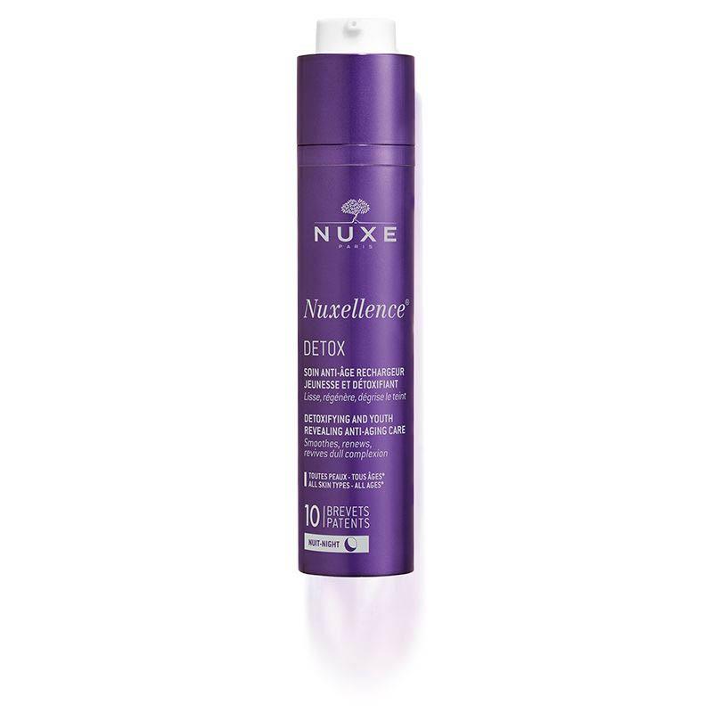 Achetez NUXELLENCE DETOX Fluide rechargeur jeunesse et détoxifiant Flacon Pompe de 50ml