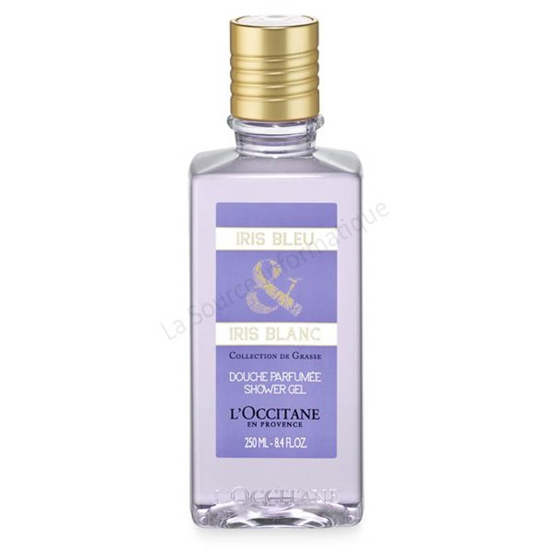 Achetez L'OCCITANE COLLECTION DE GRASSE Gel douche iris bleu Blanc flacon 250 ml