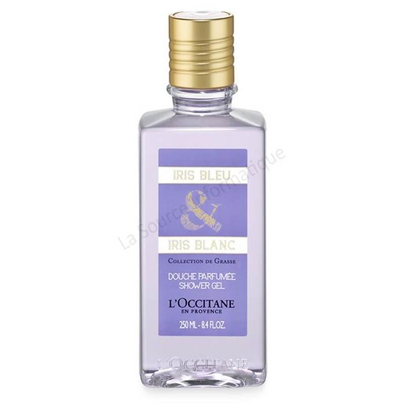 Achetez L'OCCITANE COLLECTION DE GRASSE Gel douche iris bleu Blanc flacon 250 ml