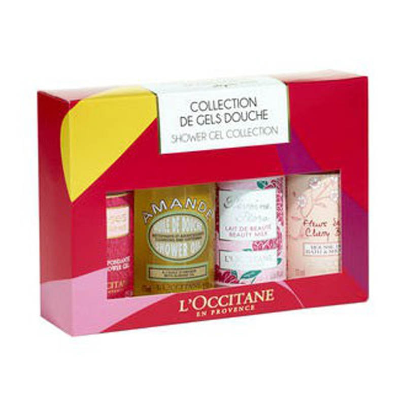 L OCCITANE Kit gel douche Noël