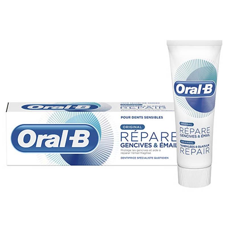 Achetez ORAL B REPARE GENCIVES & EMAIL Dentifrice original Tube de 75ml