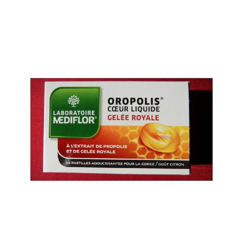 Achetez OROPOLIS Pastille coeur Gelée royale liquide Boîte de 16