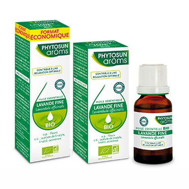 Achetez PHYTOSUN AROMS Huile essentielle bio Lavande fine Flacon de 10ml