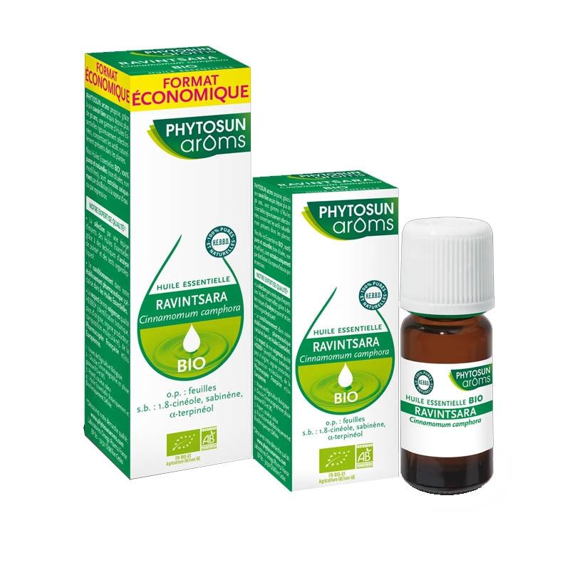 Achetez PHYTOSUN AROMS Huile essentielle bio Ravintsara Flacon de 5ml