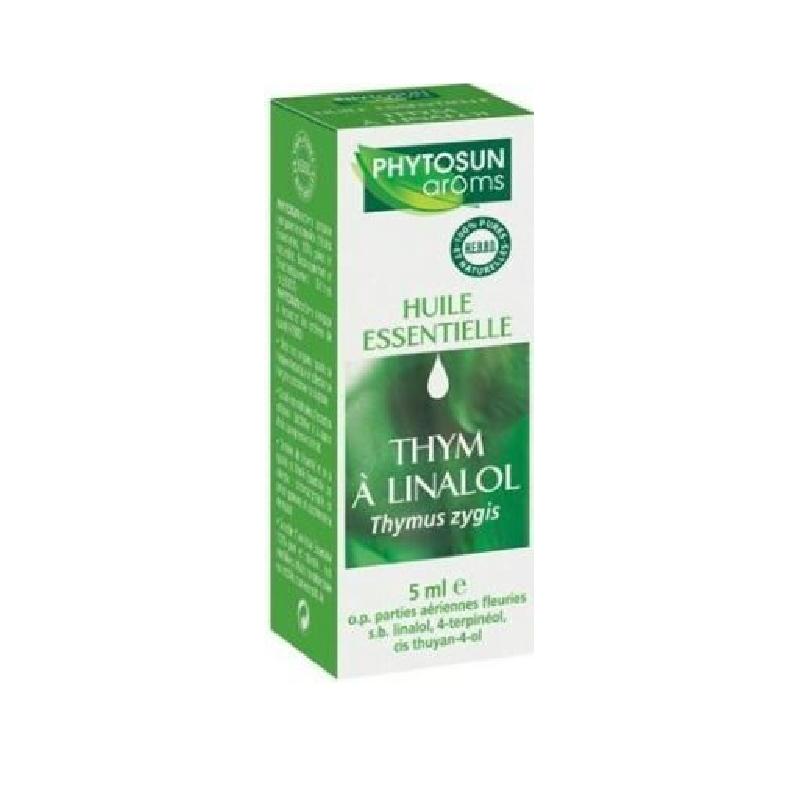 Achetez PHYTOSUN AROMS Huile essentielle Thym à Linalol Flacon de 5ml