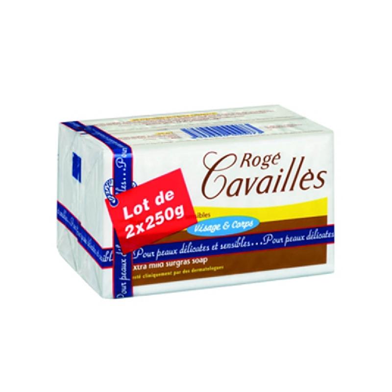 Achetez ROGE CAVAILLES Savon surgras extra doux 2x250g