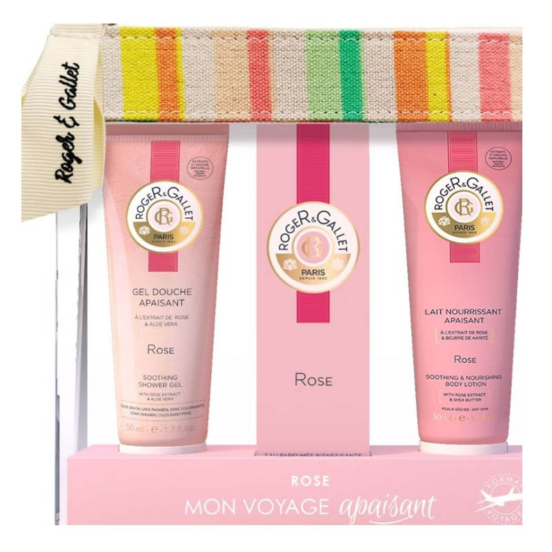 ROGER GALLET ROSE Coffret summer to go