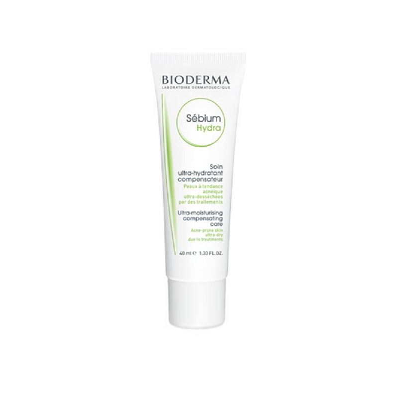 SEBIUM HYDRA Crème hydratante compensatrice peau grasse Tube de 40ml