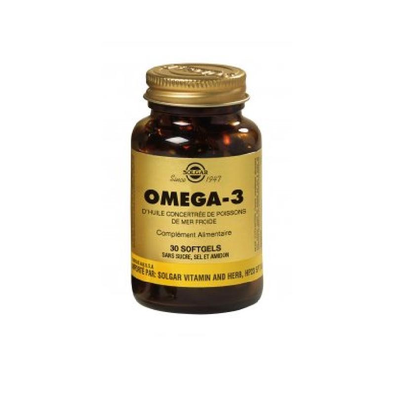 Achetez SOLGAR OMEGA 3 Capsule Pot de 60