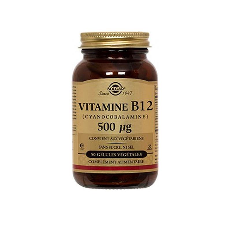 Achetez SOLGAR VITAMINE B12 GEL Pot de 50