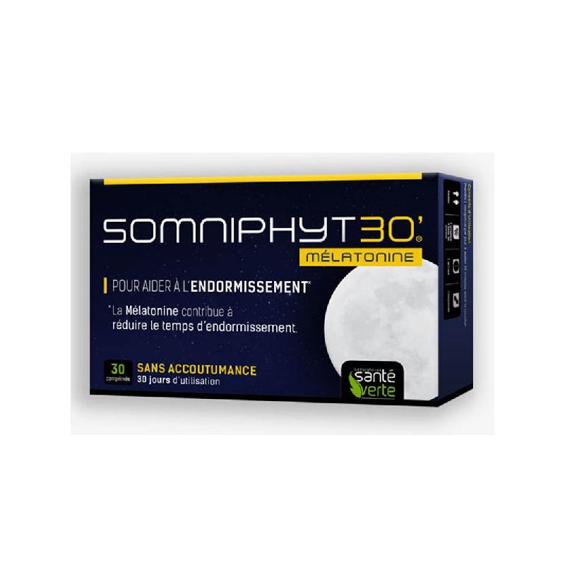 Achetez SOMNIPHYT TOTAL NUIT 1 mg Comprimé Boîte de 30