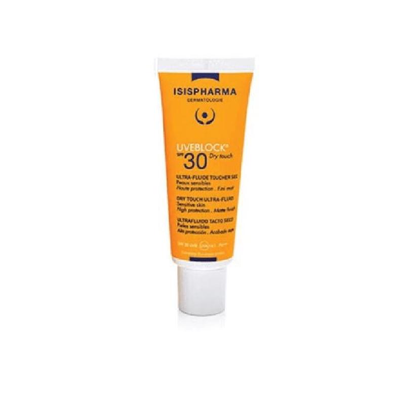 Achetez UVEBLOCK SPF30 Fluide ultra haute protection toucher sec Tube de 40ml