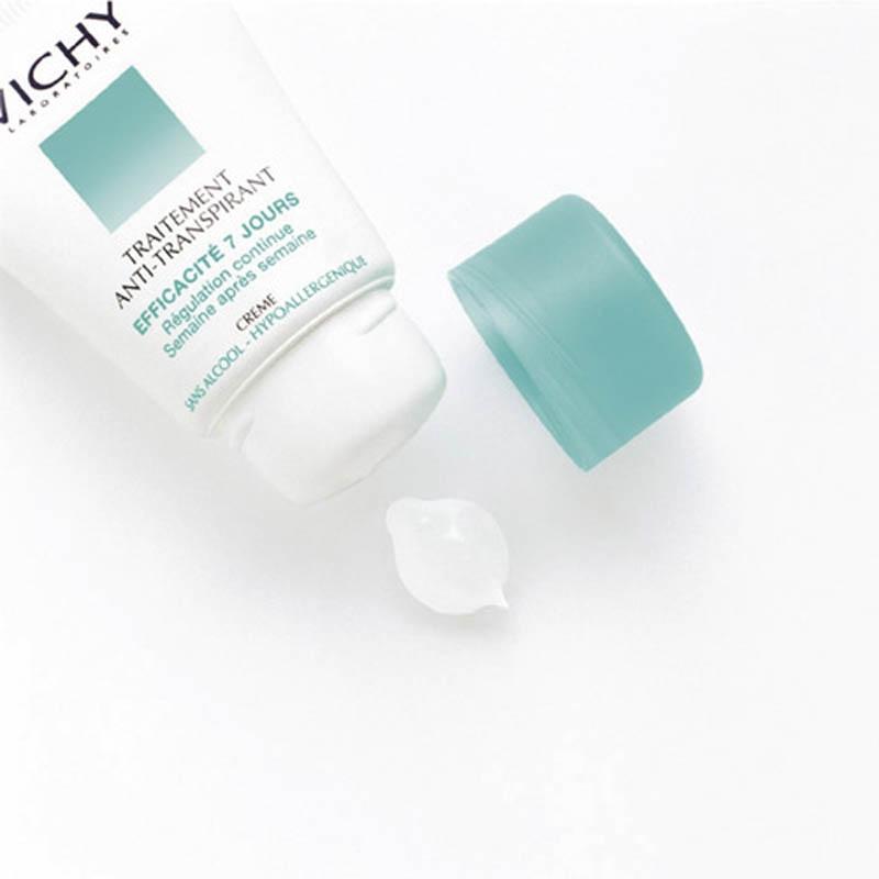 Achetez VICHY Déodorant crème anti-transpirant 7 jours Tube de 30ml